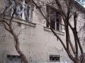 Buďánka - tady je viník chátrání podepsán - černý na bílém! (autor: Drahomír Bárta, 1. 1. 2010)