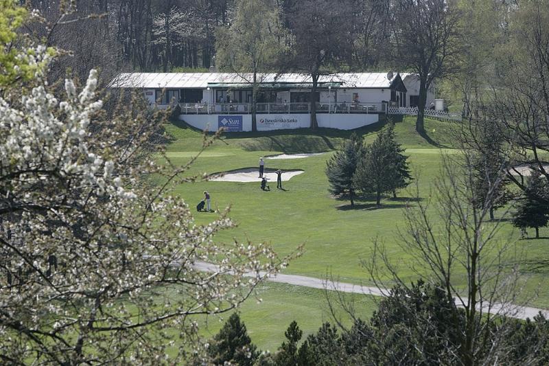 Golfové hřiště v Motole (zdroj: Golf Club Praha)