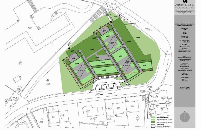 Situace stavby (zdroj: NEWTON Management)
