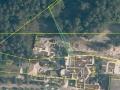 Nádraží Stodůlky - Ortofotomapa a katastrální mapa