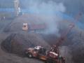 Stavební stroje zamořují okolí výfukovými plyny
