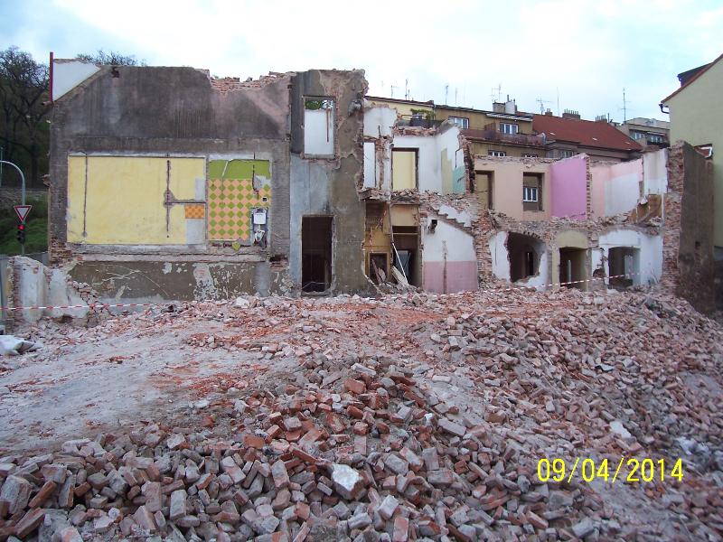 Pohled z Jinonické (autor: Drahomír Bárta, 9. 4. 2014)