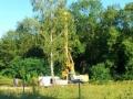 Začíná se stavět vila Diamantica i přes protesty občanských sdružení a mnohých obyvatel Prahy 5 (zdroj: Prokopské a Dalejské údolí, 15. 8. 2013)