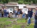 Přišli protestovat starší lidé