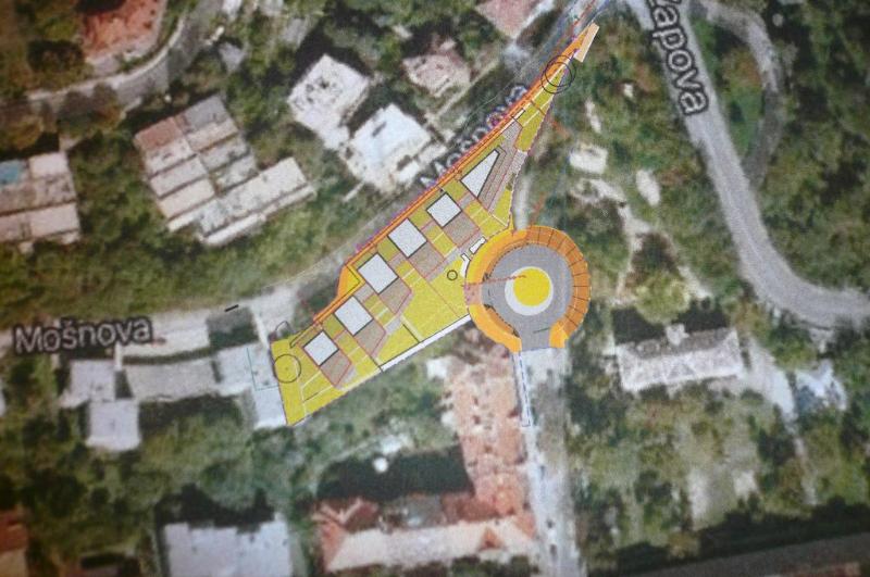 Půdorys projektu Rezidence Erbenova