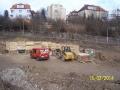 Stavba byla zahájena. Pohled zboku (autor: Drahomír Bárta, 15. 2. 2014)