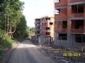 Ulice U slévárny. Jak se tady budou chodci vyhýbat autům ? (autor: Drahomír Bárta, 28. 9. 2014)