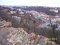 Z vrcholu Skalky je úžasný výhled (autor: Drahomír Bárta, 3. 2. 2013)