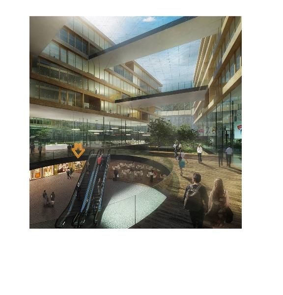 Sekyra Group: developerský projekt Smíchov City - okolí Smíchovského nádraží