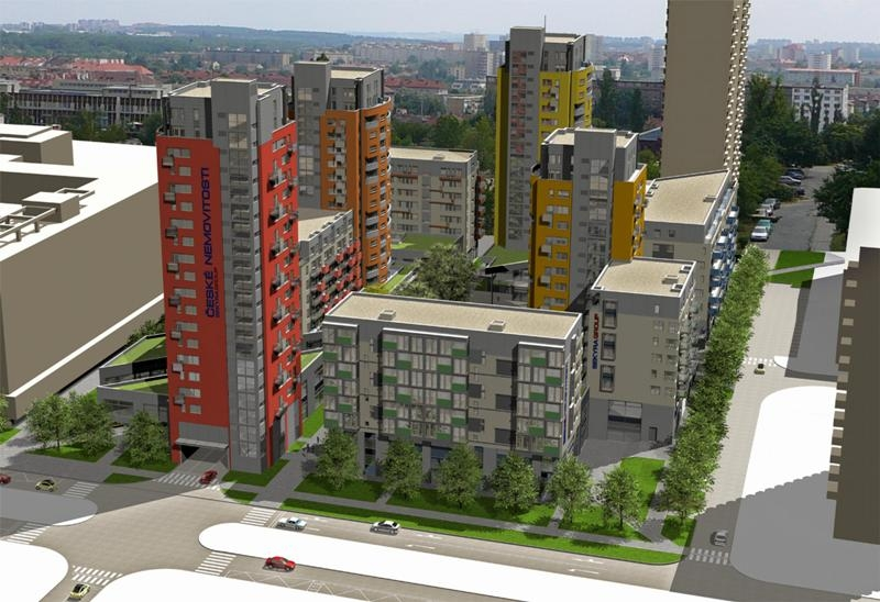 Sekyra Group: developerský projekt Smíchov City