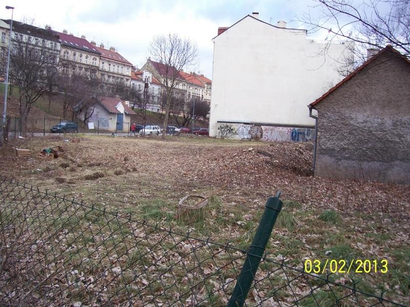 Staveniště je již připraveno (autor: Drahomír Bárta, 3. 2. 2013)