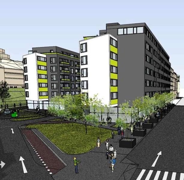 Starokošířská avenue (zdroj: RS development, s. r. o.)