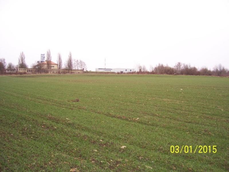 Západní část Vidoule, kterou majitelé pozemků chtějí změnit na obytnou čtvrť (autor: Drahomír Bárta, 3. 1. 2015)
