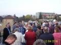 Velké shromáždění občanů proti stavbě (Drahomír Bárta, 12. 4. 2016)