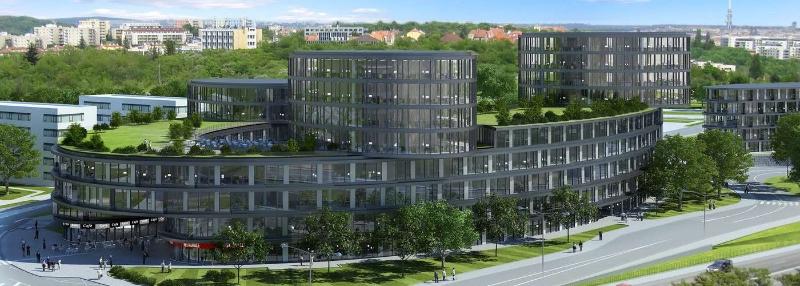Projekt kanceláře Waltrovka (zdroj: Waltrovka.cz)