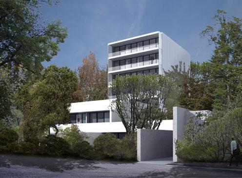 Bytový dům Hřebenka (zdroj: RadanHubička.com)